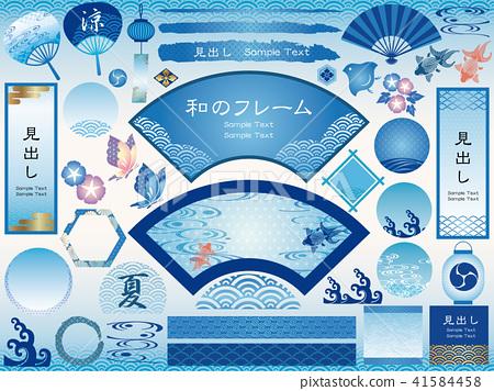 일본식 프레임 세트 여름 버전 41584458