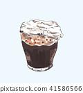 cocktail, vector, illustration 41586566