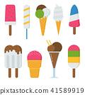 冰 奶油 乳霜 41589919
