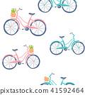 bike, bicycle, seamless 41592464