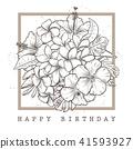 vector, card, greeting 41593927