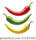 Chilli peppers 41597492