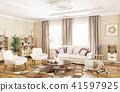 3d interior living 41597925