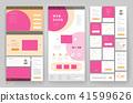 website, design, template 41599626