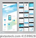 website, design, template 41599628