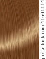 Realistic brown straight hair lock texture 41601114