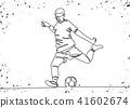 player football ball 41602674