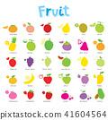Fruit Healthy Cartoon Vector 41604564