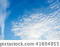 藍天天空背景背景材料 41604955