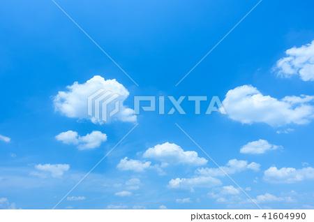 藍天天空背景背景材料 41604990