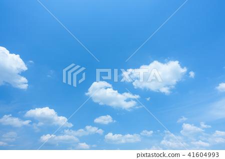 藍天天空背景背景材料 41604993