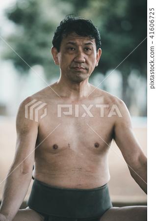 Sumo wrestling 41606725