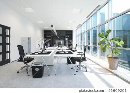 modern office interior. 41609201