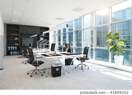 modern office interior. 41609202
