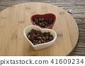 빨간 콩 찹쌀 디저트 디저트 41609234