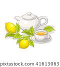 lemon, illustration, vector 41613063