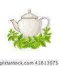 melissa tea illustration 41613075