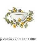 vector tea illustration 41613081