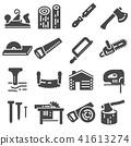 icon, carpentry, icons 41613274