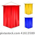Set of pennant 41613589