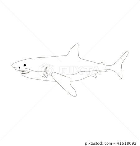 Hammerhead Shark Coloring Page | crayola.com | 468x450