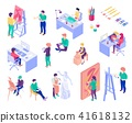creative, isometric, profession 41618132