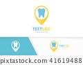 logo dental pointer 41619488