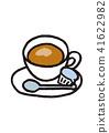 커피, 커피잔, 컵 41622982