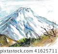 富士山 堆 许多 41625711