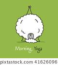 sheep, vector, sketch 41626096