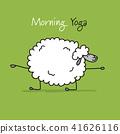 sheep, vector, sketch 41626116
