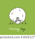 sheep, vector, sketch 41626127