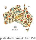 澳大利亚 澳洲 图标 41626350