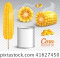 transparent corn set 41627450