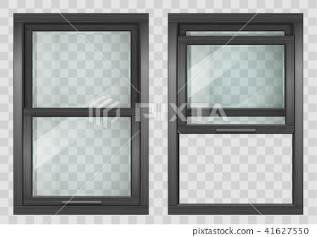Wooden Sliding window 41627550