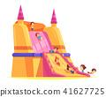 Trampoline Kids Attraction Composition 41627725