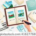 Photo Album Vector Illustration 41627768