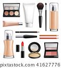 Makeup Cosmetics Realistic Set 41627776