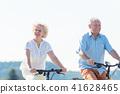 노인, 자전거, 부부 41628465