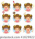 儿童图标女孩 41629922