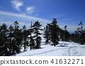 잔설 기의 上州 武尊山의 풍경 (2018 년 3 월 3 일) 41632271