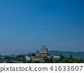A fresh green Himeji castle 41633607