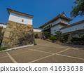 A fresh green Himeji castle 41633638