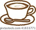 拿鐵咖啡 咖啡 電腦線上鑑識證據擷取器 41633771