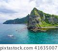 세타카무이 바위 공중 촬영 (홋카이도 비라) 41635007