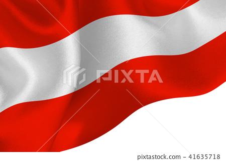 Austrian flag flag background 41635718