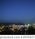 View of Ipswich City at night. 41635825