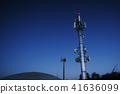 Large radio tower in Ipswich City 41636099