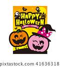 halloween pumpkin ghost 41636318