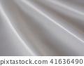 흰 천의 드레이프 광택있는 새틴 원단 d-1 41636490